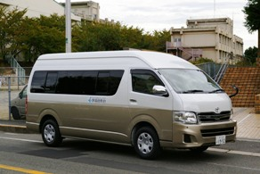 堺福音教会 送迎バス